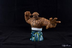 [Garage kit painting #16] The Thing bust - 002 by DasArt