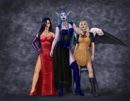 Daughters of Darkness by Paine-Moon
