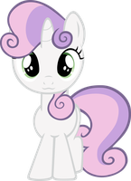 Sweetie Bell enchant with adorableness by RatchetHuN