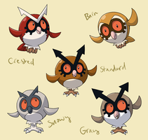 PokemonSubspecies: Hoothoot