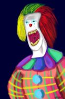 Chomps the clown by KingKevzilla