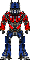 Optimus Prime by JediRhydon