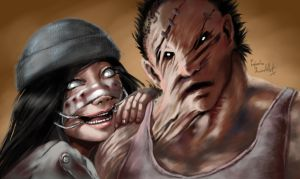 Dead by daylight  - The Friendly and The Hillbilly by propimol