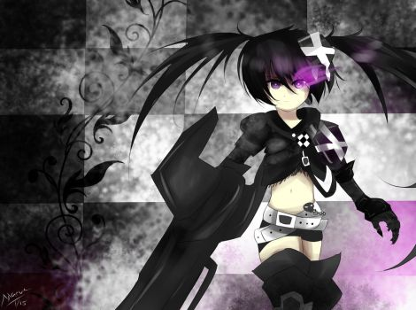 Insane Black Rock Shooter by Maeveycorn360