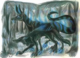 Maxx and Lazarus by Eviecats