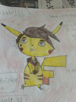 Marco Diaz as a Pikachu pic 2 (full picture) by Blaria95