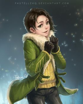 Young LOKI by pastellZHQ