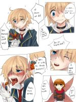 Sen-dono is a Passionate Little One! Page1 by Castellapocalypse