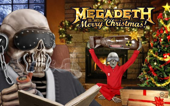 Megadet Christmas Card 2013 by MtheRAVEN