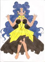 Luna in human form by animequeen20012003