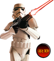 Star Wars StormTrooper Render by Retr0Dud3