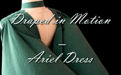 Drapped in Motion-Ariel Dress by bakenekogirl