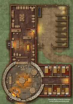 Tavern Map by jasonjuta