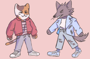 Fashion Boys by IittIebird