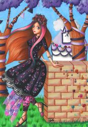 Briar beauty - Spring Unsprung by Elythe