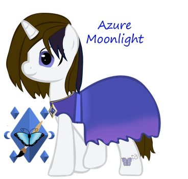 Azure Moonlight hidden wings 2 by ebojf