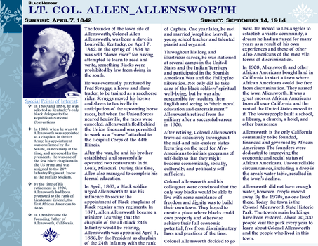 Lt Col allen allensworth by ZandKfan4ever57