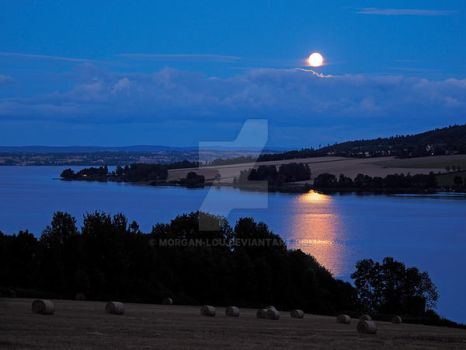 August Full Sturgeon Moon by Morgan-Lou
