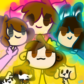 |MISC/CONTEST ENTRY| All together now~ by GalaxyPixies45