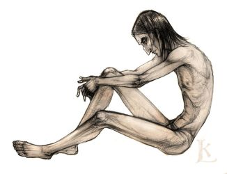 Snape figure sketch by Glissar