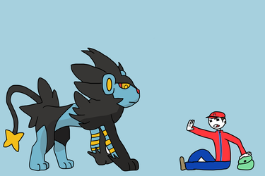 The Amazing Luxray by JuiceboxDraws