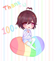 Thank You For 100+ Watchers! by sekecchi