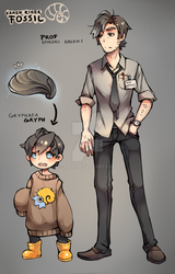 Hiroki and Gryph by Twai