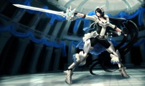 The Queen of Duels Fiora by ArtNotHearts