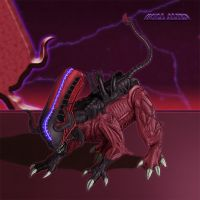 Bull Alien by Escama