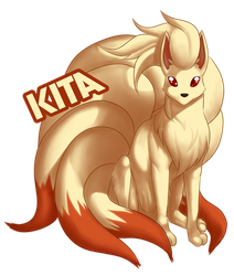 Pokemon Commission: Kita by Galactic-Rush