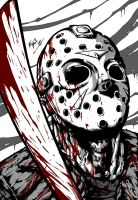 Friday the 13th - Jason by Art-by-Evan