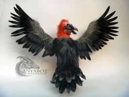Marrow the Bearded Vulture Room Guardian by AnyaBoz