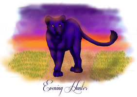 Evening Hunter - colouring by xXLionqueenXx