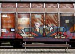 mobile graffito by Mittelfranke