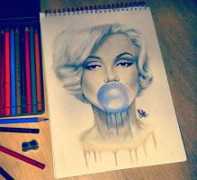 Marilyn Monroe by itisMike