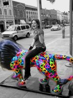 Lions and arielles...OH MY by bitemex3