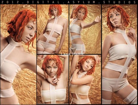 Lee Loo The Fifth Element Cosplay by LanaMarieLive