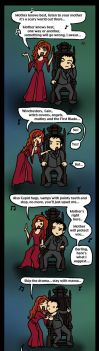 SPN: Rowena Knows Best by blackbirdrose