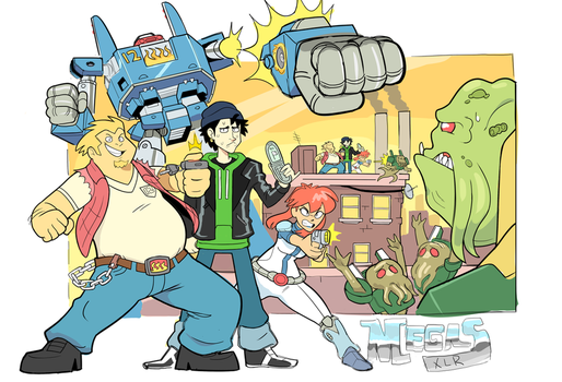 YOU. DIG. GIANT ROBOTS! by OctopusSteak