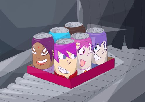 Soda Cans (request) by fullerjames