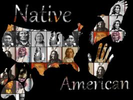 Native American. by ApocaBlueMan