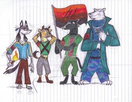Zootopia OC Nation of Predators by Scared2dream