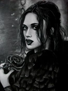 Keira Knightley Drawing by KirstyPartridgeART