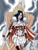 Lady Sif from Thor Commission by John-Stinsman