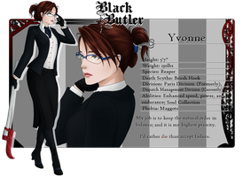 Black Butler OC: Yvonne by TigerBites