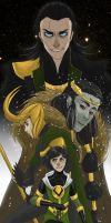 Loki by Hootsweets
