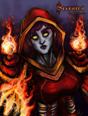 Secratea the fire mage by patty110692