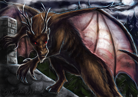 February: The Jersey Devil by pyro-helfier