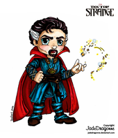 Dr Strange - Colored by JadeDragonne