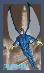 YOUNG JUSTICE: INVASION: The Original BLUE BEETLE by Jerome-K-Moore